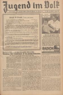 Jugend im Volk : Beilage der Deutschen Rundschau in Polen. 1939, Nr. 18 (30 April)