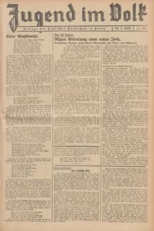 Jugend im Volk : Beilage der Deutschen Rundschau in Polen. 1939, Nr. 22 (28 Mai)