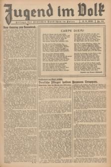 Jugend im Volk : Beilage der Deutschen Rundschau in Polen. 1939, Nr. 24 (11 Juni)