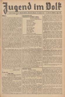 Jugend im Volk : Beilage der Deutschen Rundschau in Polen. 1939, Nr. 25 (18 Juni)