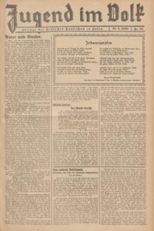 Jugend im Volk : Beilage der Deutschen Rundschau in Polen. 1939, Nr. 26 (25 Juni)