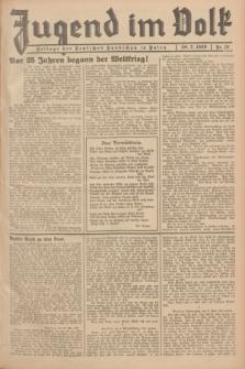 Jugend im Volk : Beilage der Deutschen Rundschau in Polen. 1939, Nr. 31 (30 Juli)