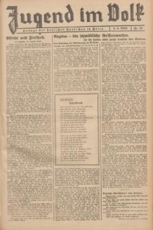 Jugend im Volk : Beilage der Deutschen Rundschau in Polen. 1939, Nr. 32 (6 August)