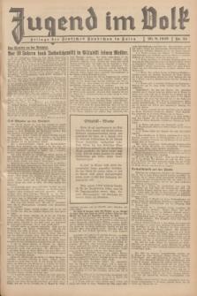 Jugend im Volk : Beilage der Deutschen Rundschau in Polen. 1939, Nr. 34 (20 August)