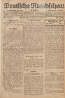 Deutsche Rundschau in Polen : früher Ostdeutsche Rundschau, Bromberger Tageblatt. Jg.46, Nr. 127 (2 Juli 1922) + dod.
