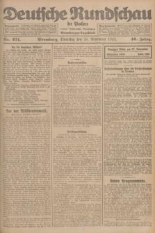 Deutsche Rundschau in Polen : früher Ostdeutsche Rundschau, Bromberger Tageblatt. Jg.46, Nr. 251 (28 November 1922) + dod.