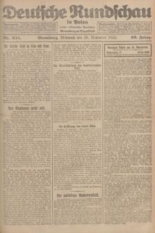 Deutsche Rundschau in Polen : früher Ostdeutsche Rundschau, Bromberger Tageblatt. Jg.46, Nr. 252 (29 November 1922) + dod.