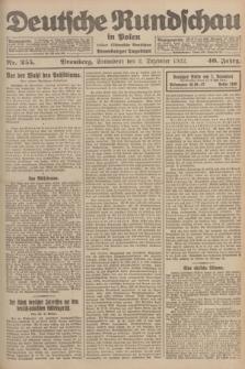 Deutsche Rundschau in Polen : früher Ostdeutsche Rundschau, Bromberger Tageblatt. Jg.46, Nr. 255 (2 Dezember 1922) + dod.