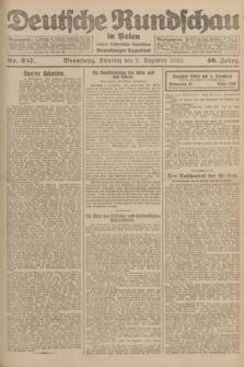 Deutsche Rundschau in Polen : früher Ostdeutsche Rundschau, Bromberger Tageblatt. Jg.46, Nr. 257 (5 Dezember 1922) + dod.