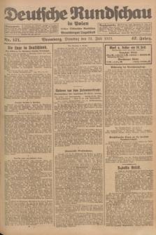 Deutsche Rundschau in Polen : früher Ostdeutsche Rundschau, Bromberger Tageblatt. Jg.47, Nr. 171 (31 Juli 1923) + dod.