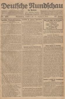 Deutsche Rundschau in Polen : früher Ostdeutsche Rundschau, Bromberger Tageblatt. Jg.47, Nr. 297 (30 Dezember 1923) + dod.