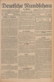 Deutsche Rundschau in Polen : früher Ostdeutsche Rundschau, Bromberger Tageblatt. Jg.48, Nr. 290 (16 Dezember 1924) + dod.