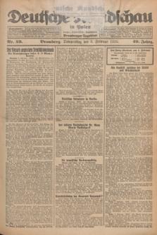 Deutsche Rundschau in Polen : früher Ostdeutsche Rundschau, Bromberger Tageblatt. Jg.49, Nr. 29 (5 Februar 1925) + dod.