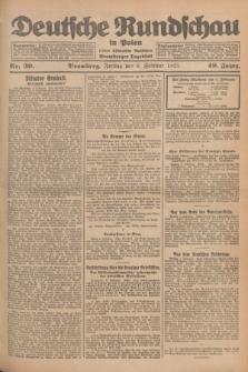 Deutsche Rundschau in Polen : früher Ostdeutsche Rundschau, Bromberger Tageblatt. Jg.49, Nr. 30 (6 Februar 1925) + dod.