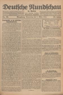 Deutsche Rundschau in Polen : früher Ostdeutsche Rundschau, Bromberger Tageblatt. Jg.49, Nr. 53 (5 März 1925) + dod.
