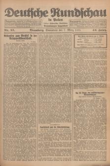 Deutsche Rundschau in Polen : früher Ostdeutsche Rundschau, Bromberger Tageblatt. Jg.49, Nr. 55 (7 März 1925) + dod.