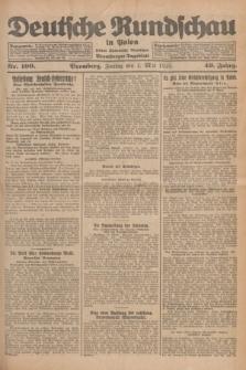 Deutsche Rundschau in Polen : früher Ostdeutsche Rundschau, Bromberger Tageblatt. Jg.49, Nr. 100 (1 Mai 1925) + dod.
