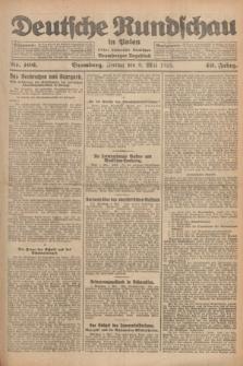 Deutsche Rundschau in Polen : früher Ostdeutsche Rundschau, Bromberger Tageblatt. Jg.49, Nr. 106 (8 Mai 1925) + dod.