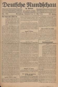 Deutsche Rundschau in Polen : früher Ostdeutsche Rundschau, Bromberger Tageblatt. Jg.49, Nr. 124 (30 Mai 1925) + dod.