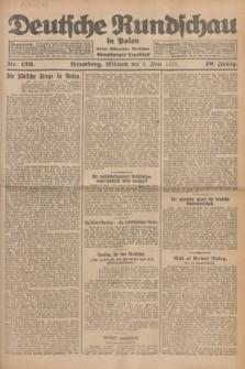 Deutsche Rundschau in Polen : früher Ostdeutsche Rundschau, Bromberger Tageblatt. Jg.49, Nr. 126 (3 Juni 1925) + dod.