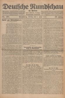 Deutsche Rundschau in Polen : früher Ostdeutsche Rundschau, Bromberger Tageblatt. Jg.49, Nr. 128 (5 Juni 1925) + dod.