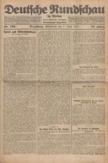 Deutsche Rundschau in Polen : früher Ostdeutsche Rundschau, Bromberger Tageblatt. Jg.49, Nr. 129 (6 Juni 1925) + dod.