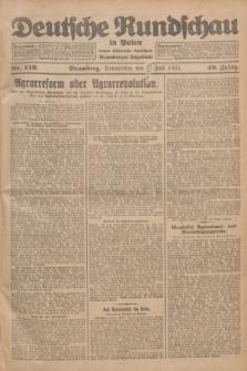 Deutsche Rundschau in Polen : früher Ostdeutsche Rundschau, Bromberger Tageblatt. Jg.49, Nr. 149 (2 Juli 1925) + dod.