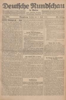 Deutsche Rundschau in Polen : früher Ostdeutsche Rundschau, Bromberger Tageblatt. Jg.49, Nr. 150 (3 Juli 1925) + dod.