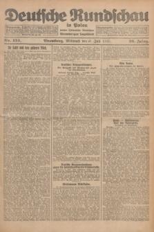 Deutsche Rundschau in Polen : früher Ostdeutsche Rundschau, Bromberger Tageblatt. Jg.49, Nr. 154 (8 Juli 1925) + dod.