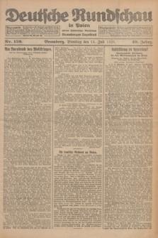 Deutsche Rundschau in Polen : früher Ostdeutsche Rundschau, Bromberger Tageblatt. Jg.49, Nr. 159 (14 Juli 1925) + dod.