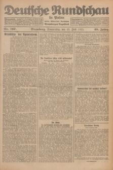 Deutsche Rundschau in Polen : früher Ostdeutsche Rundschau, Bromberger Tageblatt. Jg.49, Nr. 167 (23 Juli 1925) + dod.