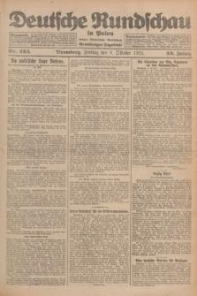 Deutsche Rundschau in Polen : früher Ostdeutsche Rundschau, Bromberger Tageblatt. Jg.49, Nr. 233 (9 Oktober 1925) + dod.