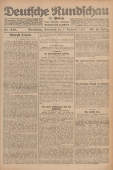 Deutsche Rundschau in Polen : früher Ostdeutsche Rundschau, Bromberger Tageblatt. Jg.32, Nr. 258 (7 November 1925) = Jg.49 + dod.