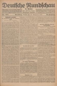 Deutsche Rundschau in Polen : früher Ostdeutsche Rundschau, Bromberger Tageblatt. Jg.32, Nr. 263 (13 November 1925) = Jg.49 + dod.