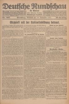 Deutsche Rundschau in Polen : früher Ostdeutsche Rundschau, Bromberger Tageblatt. Jg.32, Nr. 267 (18 November 1925) = Jg.49 + dod.