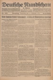 Deutsche Rundschau in Polen : früher Ostdeutsche Rundschau, Bromberger Tageblatt. Jg.32, Nr. 268 (19 November 1925) = Jg.49 + dod.