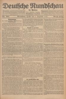 Deutsche Rundschau in Polen : früher Ostdeutsche Rundschau, Bromberger Tageblatt. Jg.32, Nr. 281 (4 Dezember 1925) = Jg.49 + dod.