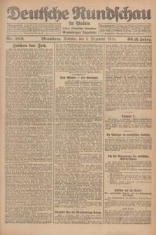 Deutsche Rundschau in Polen : früher Ostdeutsche Rundschau, Bromberger Tageblatt. Jg.32, Nr. 283 (6 Dezember 1925) = Jg.49 + dod.