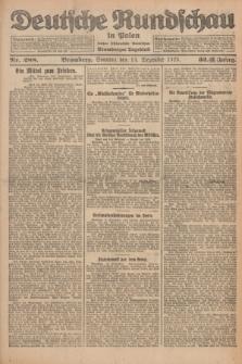 Deutsche Rundschau in Polen : früher Ostdeutsche Rundschau, Bromberger Tageblatt. Jg.32, Nr. 288 (13 Dezember 1925) = Jg.49 + dod.