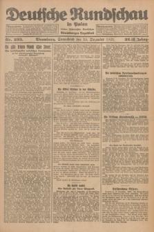 Deutsche Rundschau in Polen : früher Ostdeutsche Rundschau, Bromberger Tageblatt. Jg.32, Nr. 293 (19 Dezember 1925) = Jg.49 + dod.