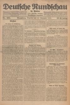 Deutsche Rundschau in Polen : früher Ostdeutsche Rundschau, Bromberger Tageblatt. Jg.32, Nr. 295 (22 Dezember 1925) = Jg.49 + dod.
