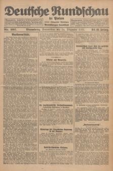 Deutsche Rundschau in Polen : früher Ostdeutsche Rundschau, Bromberger Tageblatt. Jg.32, Nr. 297 (24 Dezember 1925) = Jg.49 + dod.