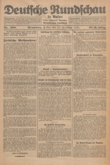 Deutsche Rundschau in Polen : früher Ostdeutsche Rundschau, Bromberger Tageblatt. Jg.32, Nr. 298 (25 Dezember 1925) = Jg.49 + dod.
