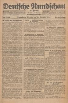 Deutsche Rundschau in Polen : früher Ostdeutsche Rundschau, Bromberger Tageblatt. Jg.32, Nr. 299 (29 Dezember 1925) = Jg.49 + dod.