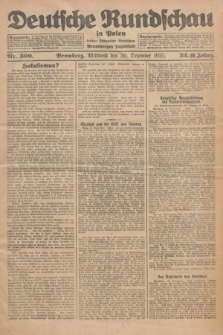 Deutsche Rundschau in Polen : früher Ostdeutsche Rundschau, Bromberger Tageblatt. Jg.32, Nr. 300 (30 Dezember 1925) = Jg.49 + dod.