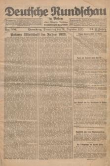 Deutsche Rundschau in Polen : früher Ostdeutsche Rundschau, Bromberger Tageblatt. Jg.32, Nr. 301 (31 Dezember 1925) = Jg.49 + dod.