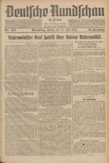 Deutsche Rundschau in Polen : früher Ostdeutsche Rundschau, Bromberger Tageblatt. Jg.33, Nr. 165 (23 Juli 1926) = Jg.50 + dod.