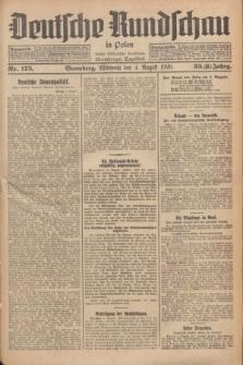 Deutsche Rundschau in Polen : früher Ostdeutsche Rundschau, Bromberger Tageblatt. Jg.33, Nr. 175 (4 August 1926) = Jg.50 + dod.