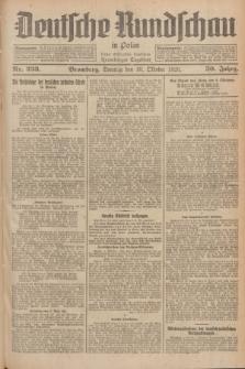 Deutsche Rundschau in Polen : früher Ostdeutsche Rundschau, Bromberger Tageblatt. Jg.50, Nr. 233 (10 Oktober 1926) + dod.