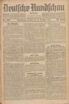 Deutsche Rundschau in Polen : früher Ostdeutsche Rundschau, Bromberger Tageblatt. Jg.50, Nr. 297 (28 Dezember 1926) + dod.